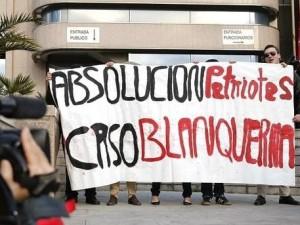 La excesiva dureza del Tribunal Supremo con los manifestantes en la sede de la Generalidad catalana en Madrid